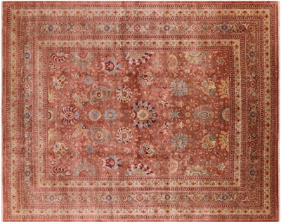 Fine Serapi Oxidized Wool Hand Knotted Oriental Rug
