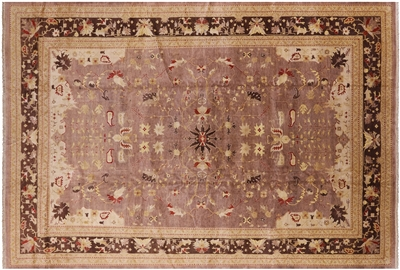 Peshawar Hand Knotted Oriental Wool Rug