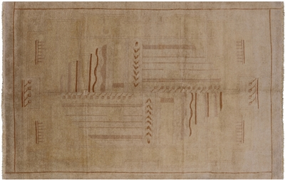 Traditional Navajo Design Oriental Gabbeh Area Rug