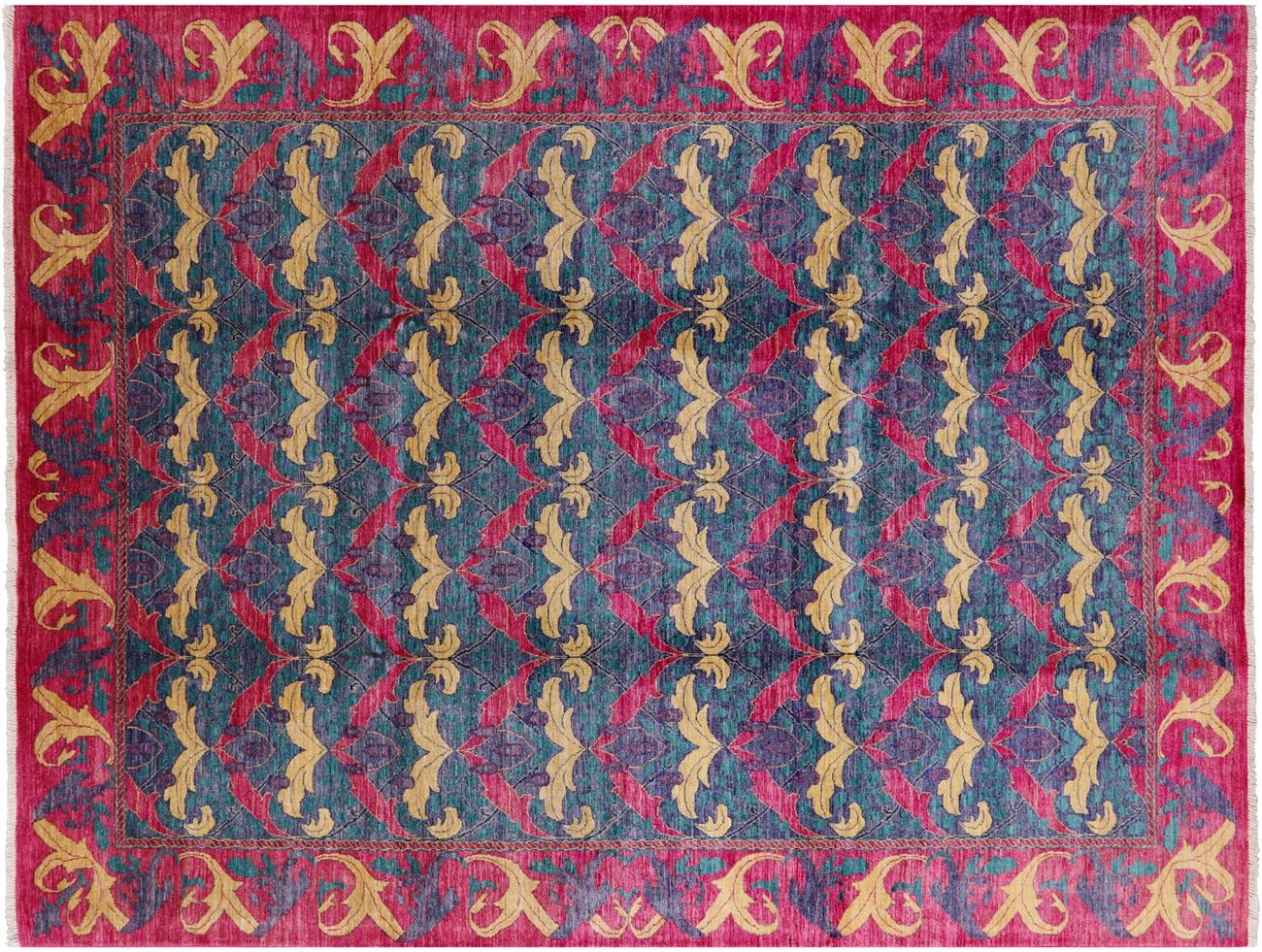 view larger photo.  x  art's  crafts william morris design modern oriental rug
