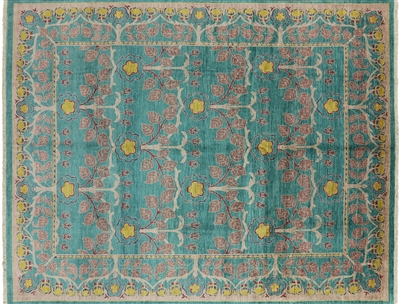 William Morris Oriental Area Rug