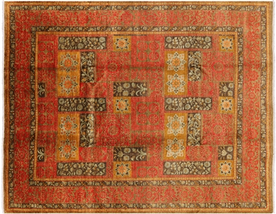 Hand Knotted Art's & Crafts Area Rug