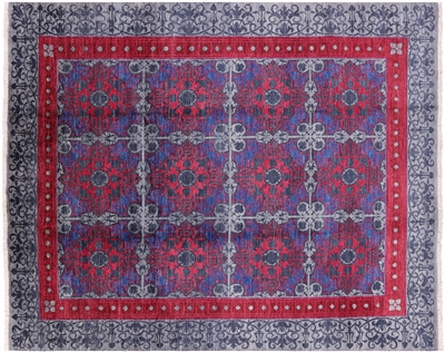 Hand Knotted William Morris Area Rug