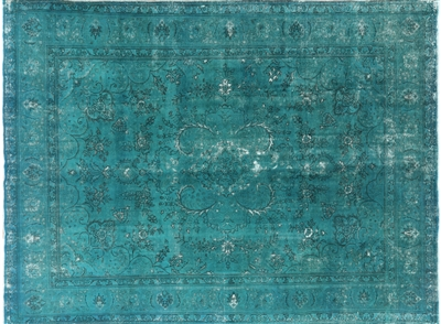 Persian Overdyed Hand Knotted Area Rug