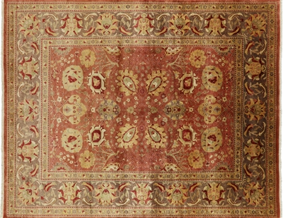 Traditional Peshawar Oriental Area Rug