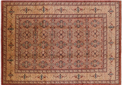 Fine Peshawar Hand Knotted Oriental Area Rug