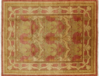Hand Knotted Modern Oriental Area Rug