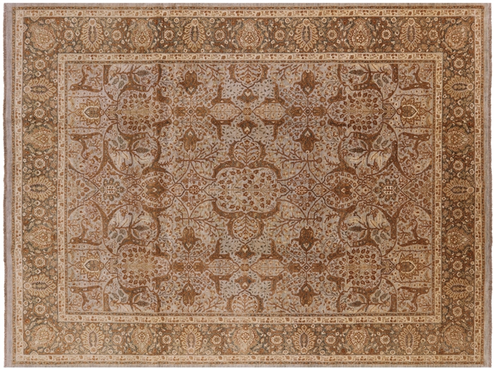 Hand Knotted Wool Peshawar Area Rug
