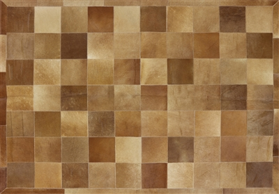 Patchwork Cowhide Area Rug