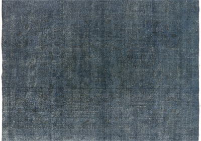 Oriental Hand Knotted Overdyed Area Rug