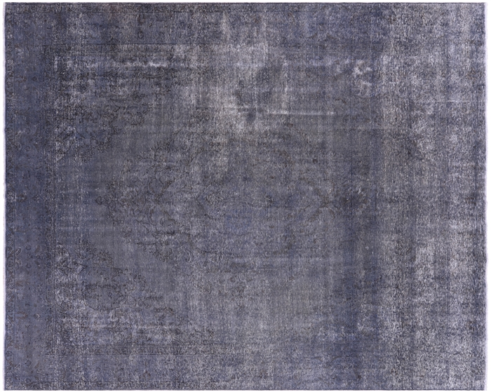 Blue Persian Overdyed Rug