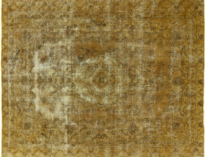 Oriental Persian Overdyed Area Rug