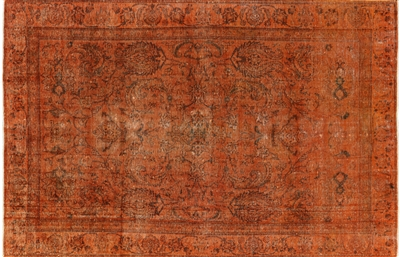 Persian Overdyed Area Rug
