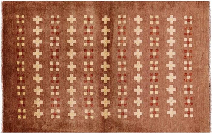 Gabbeh Hand Knotted Area Rug
