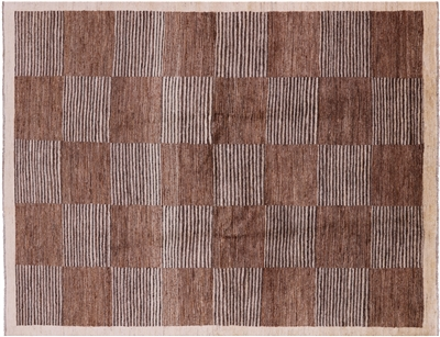 Hand Knotted Persian Gabbeh Area Rug