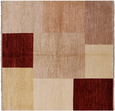 Square Gabbeh Area Rug