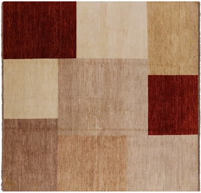 Gabbeh Square Area Rug