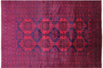 Hand Knotted Tribal Balouch Oriental Area Rug