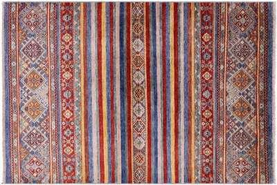 Super Kazak Khorjin Design Area Rug