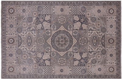 Peshawar White Wash Area Rug