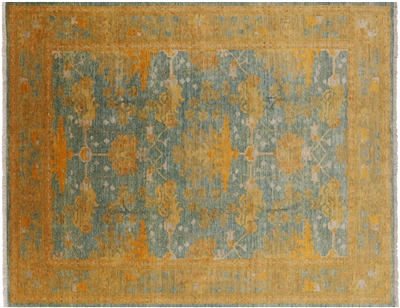 William Morris Hand Knotted Area Rug