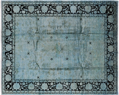 Persian Overdyed Full Pile Area Rug