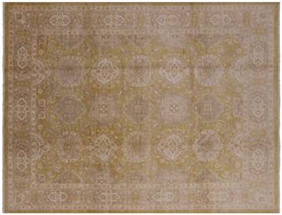 Peshawar Hand Knotted Area Rug