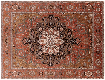 Super Fine Serapi Oriental Hand Knotted Area Rug