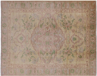 Floral Hand Knotted Area Rug