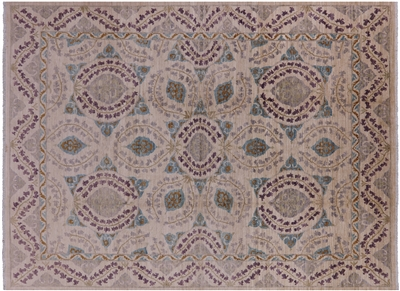 Modern Signed Arts and Crafts Oriental Area Rug