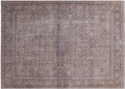 Oriental Overdyed Hand Knotted Area Rug