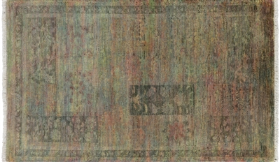 Arts and Crafts Hand Knotted Area Rug