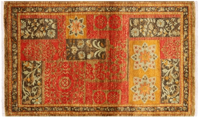 Hand Knotted Persian Suzani Area Rug