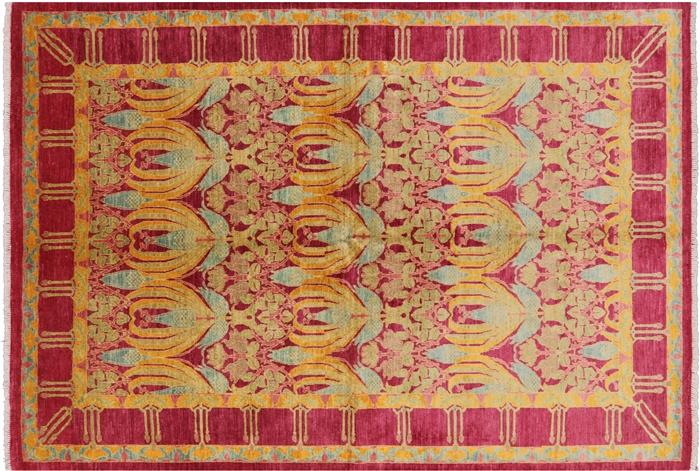 6 7 Quot X 9 5 Quot William Morris Handmade Area Rug