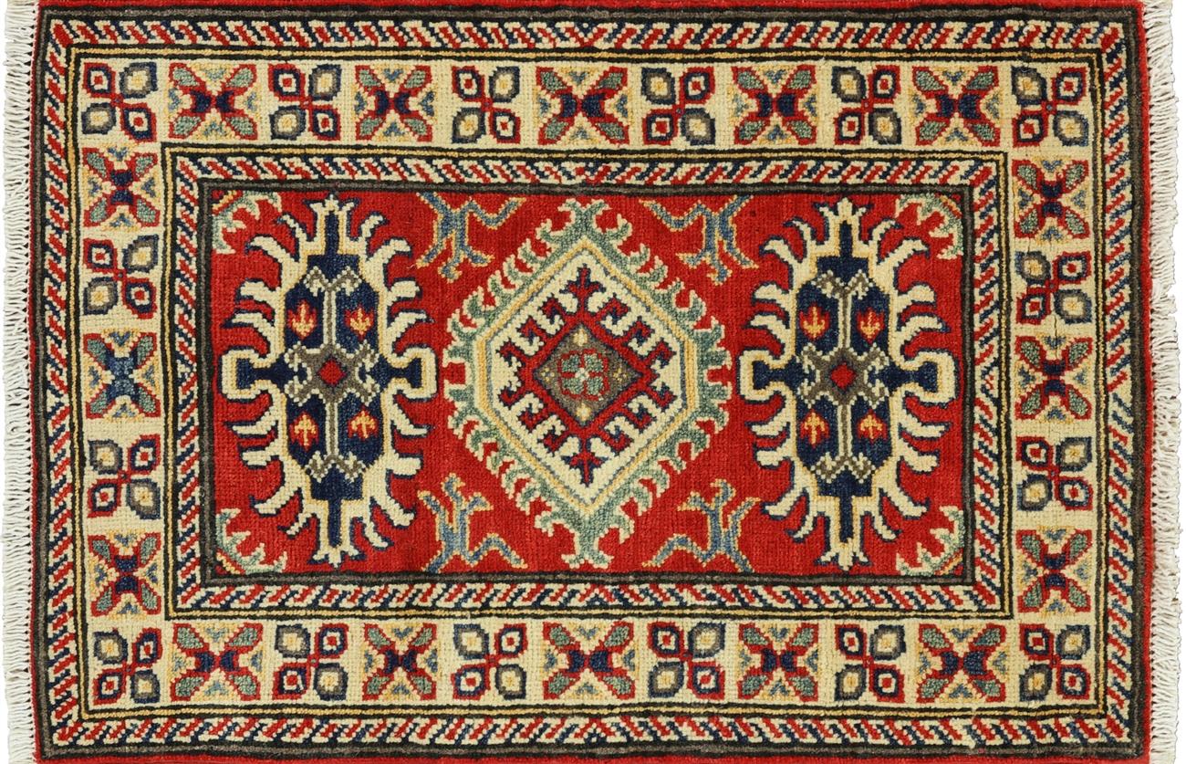 oriental kazak rug 2 x 3