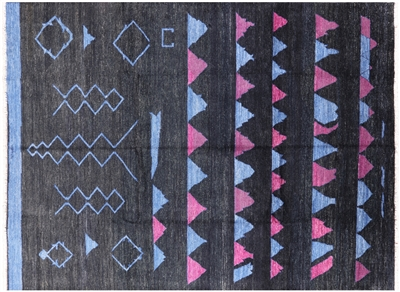 Signed Navajo Design Rug