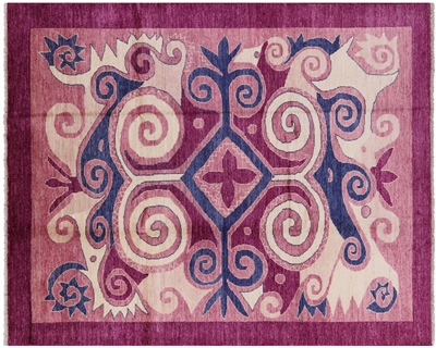 Modern Oriental Arts and Crafts Area Rug