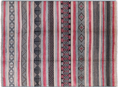 Signed Southwest Navajo Design Handmade Area Rug