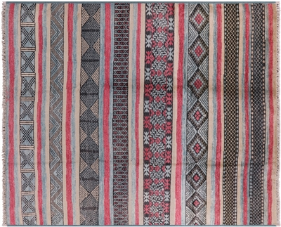 Hand Knotted Navajo Design Rug