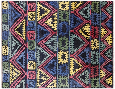 Moroccan Hand Knotted Rug