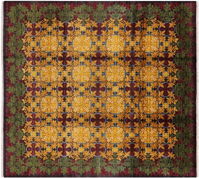 Arts and Crafts Oriental Hand Knotted Rug