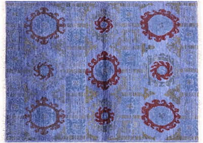 Arts and Crafts Wool Hand Knotted Rug