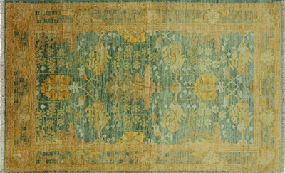 Arts and Crafts Hand Knotted Rug