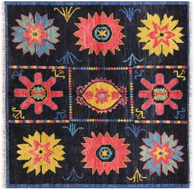 Arts and Crafts 5' Square Rug