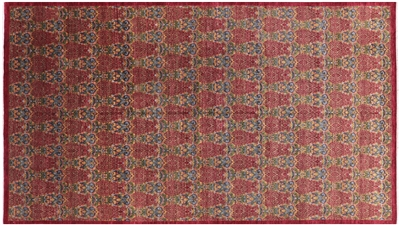 William Morris Design Oriental Hand Knotted Modern Rug