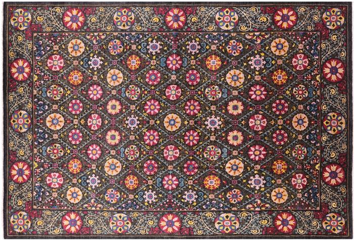 12 X 17 William Morris Design Handmade Rug
