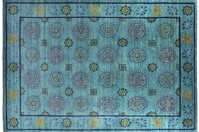 Blue William Morris Oriental Rug