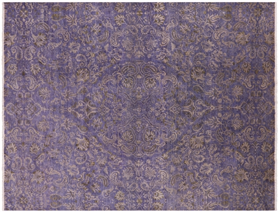 Oriental Wool Hand-Knotted Modern Area Rug