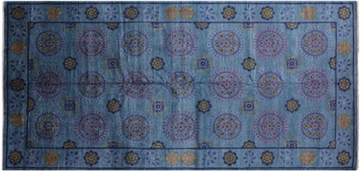 Blue William Morris Rug