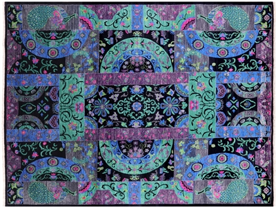 Modern Arts & Crafts Hand Knotted Rug